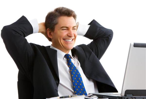 happy man looking at computer small resized 600